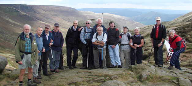 Sheffield Visually Impaired Walking group