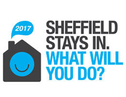 Sheffield Stays In logo