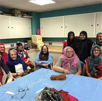 Head Scarf Workshop  at SRSB
