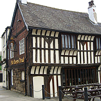 Photograph of the Old Queens Head pub
