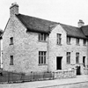 Black and white photo of the exterior of Cairn Home for elderly blind people