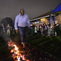 Photo of last years Firewalk