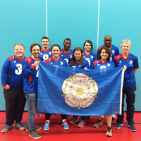 Photograph of Goalball team