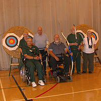 Photograph of Archery Group
