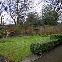 Photograph of Meersbrook walled garden