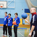 Photograph of members of Goalball team