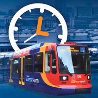Picture of the supertram leaflet