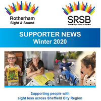Photo of front cover of Supporter Newsletter