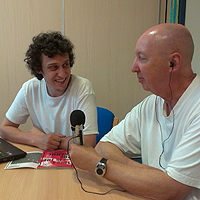 Photograph of Tramlines interview