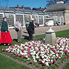 Photograph of SRSB clients on a day trip at the Botanical Gardens in Sheffield