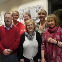 Broup photograph of some of SRSBs Community Advice Officers