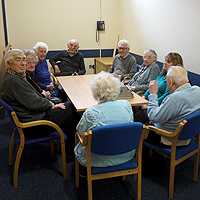 Photograph of the Reminiscence Group