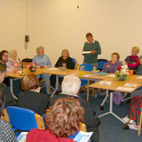 Photograph of Mappin Writers Off the Shelf event in 2010