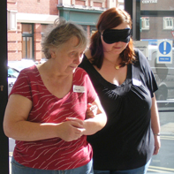 Link to more information about Visual Impairment Awareness Training