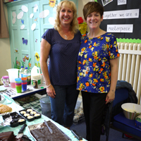 Photograph of Cake Sale