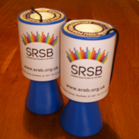 Photograph of SRSB collection tins