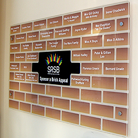 Photograph of Sponsor a Brick Wall at SRSB