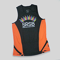 Photograph of an SRSB running vest