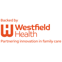 Backed by Westfield logo